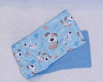 Doggie Belly Band Pet Diaper Wrap  Male Dog Pants  Arf Dog  Panties Custom Sizes to 30 hes