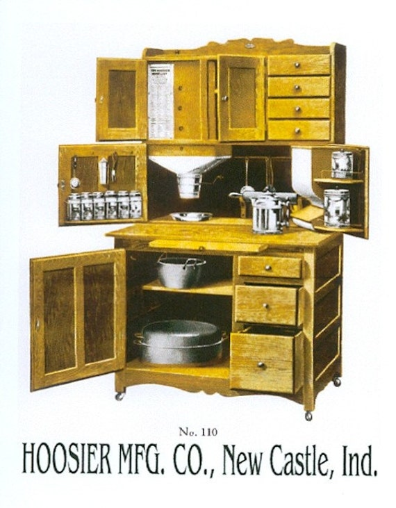 Magnet hoosier cabinet salesmans catalog by crosseyedcatgifts for Catalog kitchen cabinets