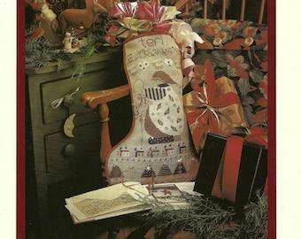Terri's Stocking - A Shephard's Bush Christmas Stocking Cross Stitch Design