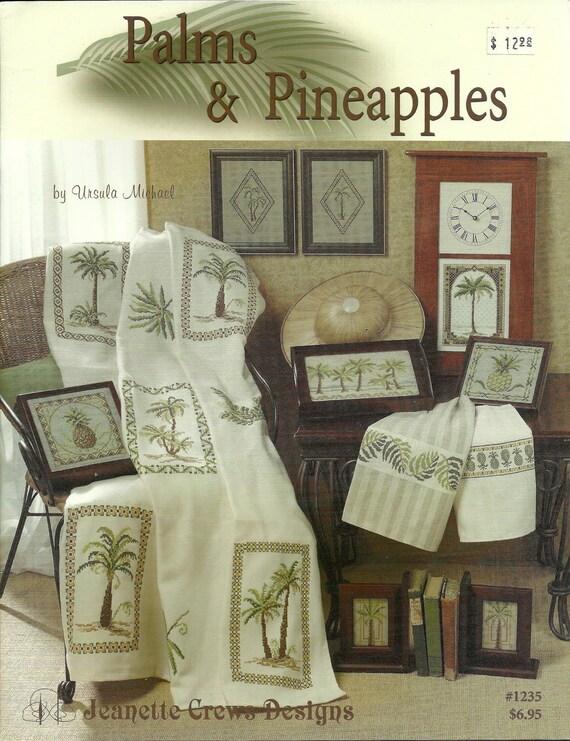 Palms & Pineapples - Jeanette Crews Cross Stitch Designs