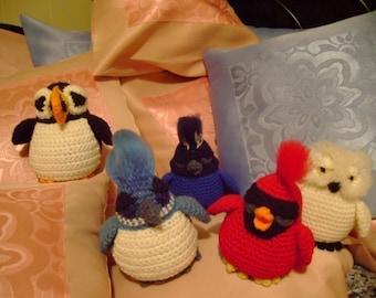 Impress Me Bird PDF Crochet Pattern