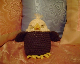 Edgar the Eagle PDF Crochet Pattern