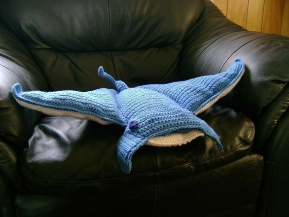 MantaRay PDF Crochet Pattern