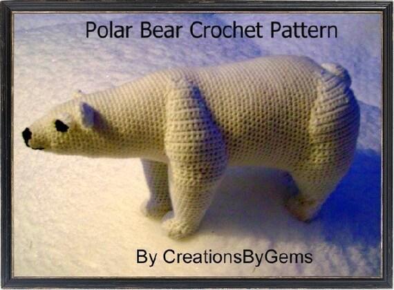 Polar Bear PDF Crochet Pattern