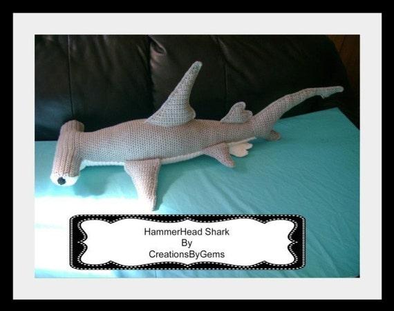Hammerhead Shark Pdf Crochet Pattern From Gemcreations On
