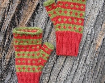 fingerless mittens for clever hands