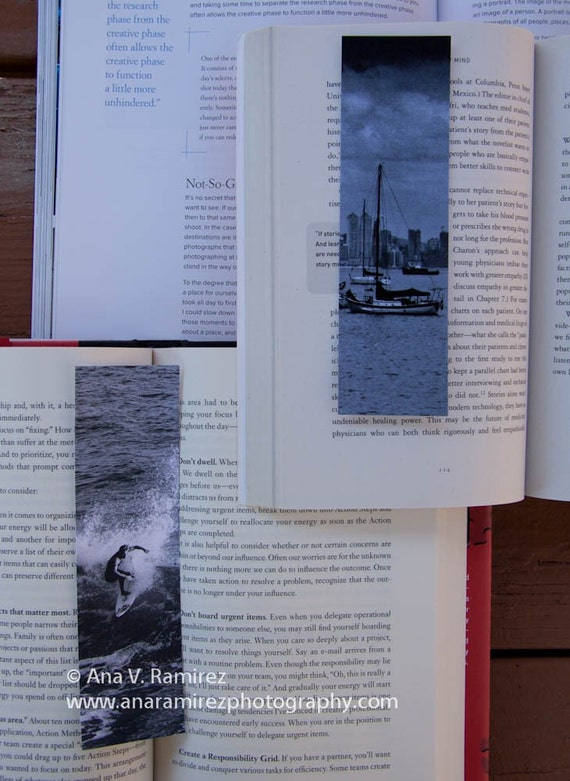 Set of Two Surf and Sail Bookmarks