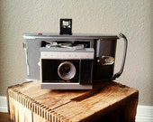 Reserved for Amanda - vintage Polaroid electric eye land camera with case and accessories : model J66 fathers day by 24 Pont