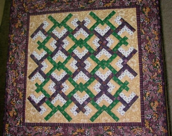 miniature quilted wallhanging