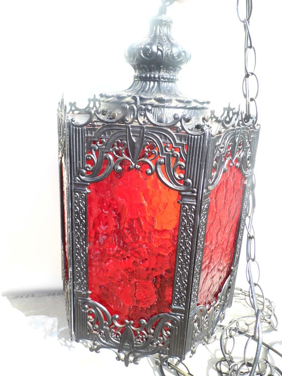 Vintage Hanging Lamp Gothic Decor Vintage Lighting Vintage