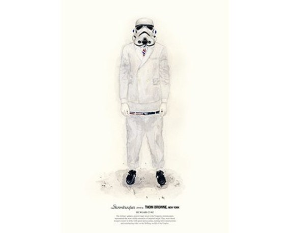 He Wears It 002 - Stormtrooper wears THOM BROWNE. New York