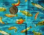 Bright Fish Print