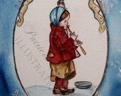 Homeless Child, Illustration Glicee, patricia Cabrera