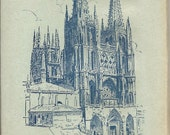 Postcard Souvenir Booklet for Burgos, Spain Set of 10 Cards