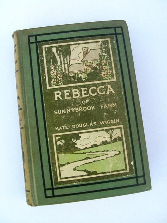 Rebecca of Sunnybrook Farm 1903 Kate Wiggin