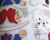 Vintage Clothkits Punch and Judy Cushion