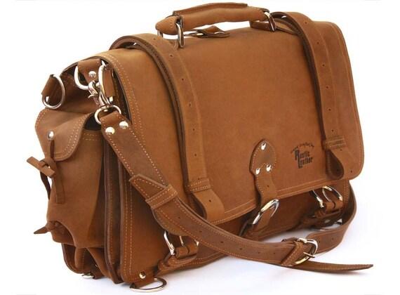 Rustic Leather briefcase Il_570xN.199973560