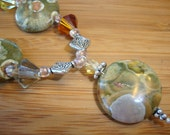 Rainbow Jasper Pendant Necklace - Mother Nature Gemstones