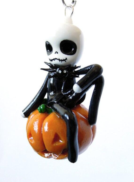 SALE - Jack - Miniature Sculpture - Charm Pendant
