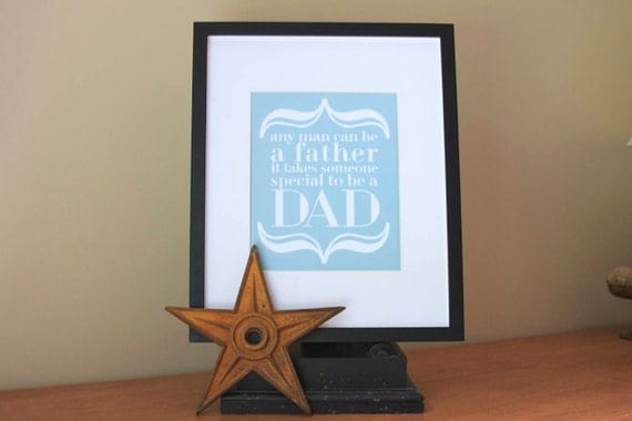 Father Love Art Print . Father's Day Gift for Daddy . Birthday . To Be a Dad . Subway Art Poster Print . Gifts for Father Birthday Pregnancy