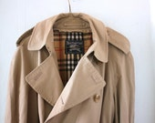 RESERVED for KieranCampbell: Vintage Burberry Trench Coat