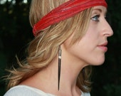 Straight tothe Point....African Porcupine Quill Earrings