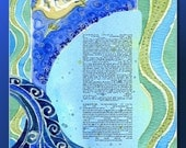 CUSTOM KETUBAH Ketubahs - Jewish wedding contract - Judaica - Wedding Vows - Shalom - 10% OFF