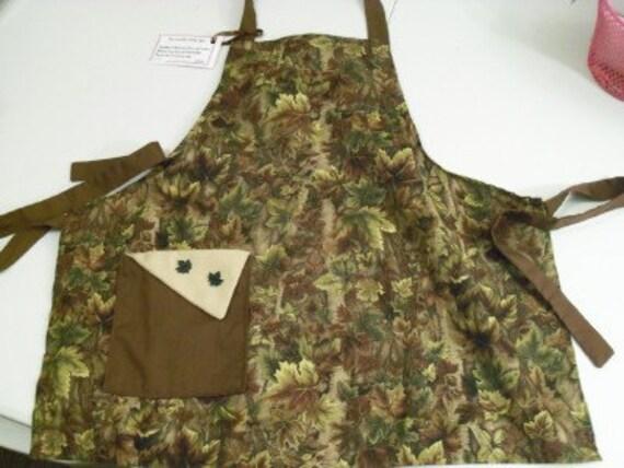 Buttercrunch Aprons - Kids Camoflage Apron