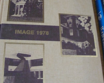 Vintage 1978 IMAGE Volume 7 College Year Book Glassboro NJ - Hardcover Year Book