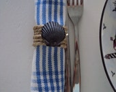 Hand designed Nautical Napkin rings set of 4