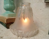 Vintage glass Fairy Lamp
