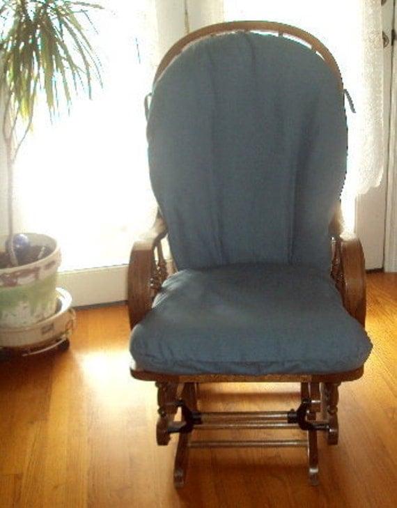 Slipcover For Glider Rocking Chair Nursery Glider Rocker SlipCover - Covers for your cushions -Room Make ...