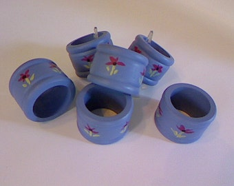 Napkin Rings  Set of Six