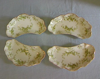 Vintage Alfred Meakin Bone Plates Set of Four