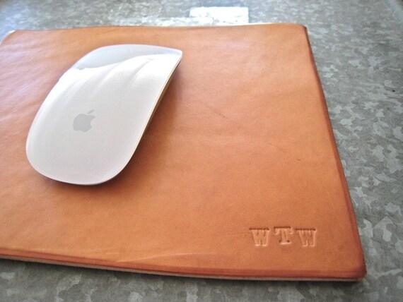 custom leather mousepad mouse pad