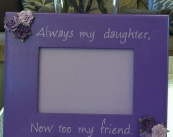Picture Frame Mother and Daughter 5x7