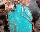 Clocks Wire Wrapped Pendant