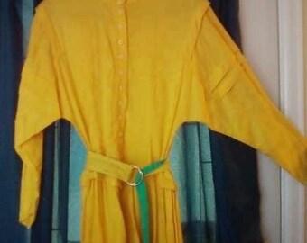 Vintage Roper Western dress  1980s