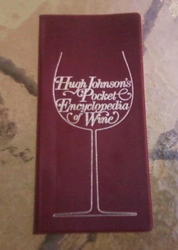 Hugh Johnson's Pocket Encyclopedia of Wine (1979)