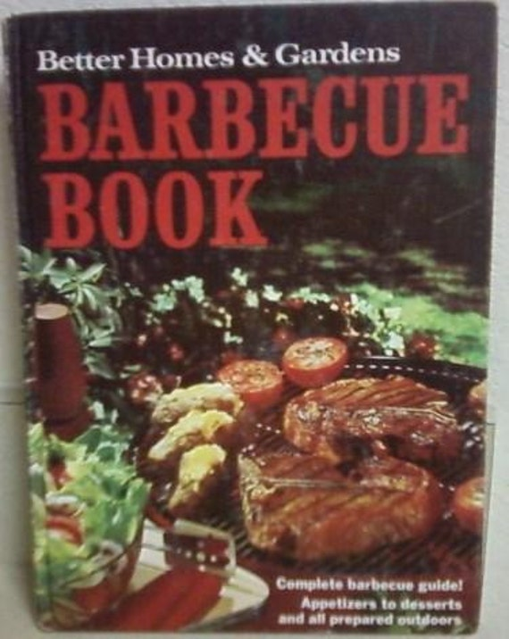 Better Homes and Gardens Barbecue Book 1967