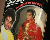 Michael Jackson American Music Awards Doll- FREE SHIPPING- SALE-