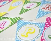 Circus Banner Bunting