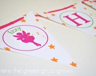 Fairy Banner Bunting