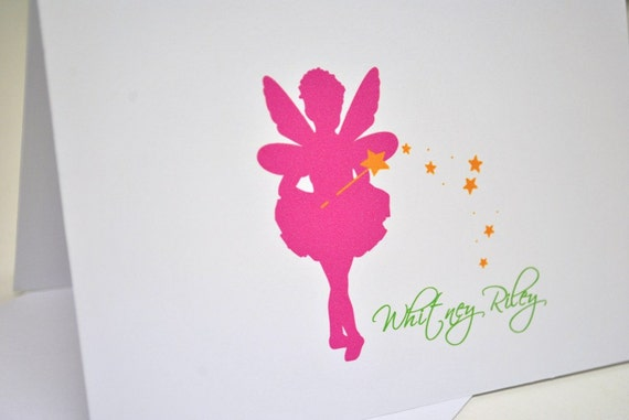 Fairy Thank you Cards