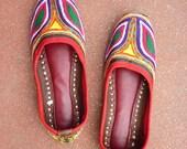 Massai Inspired black sandals