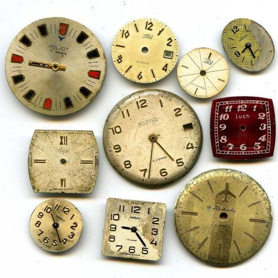 Vintage 10 watch faces to use in your work ...