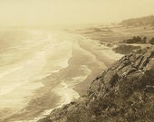 Crescent Beach From Redwood Highway Oregon - Patterson Photo on Unused Vintage Undivided Back Postcard