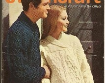 STITCHCRAFT Magazine August 1968 Fashions for late Holidays and early Autumn, great vintage designs