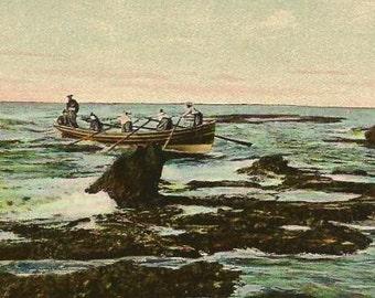 JAFFA Vintage UPU Postcard - JAFFA The Rocks - Unused