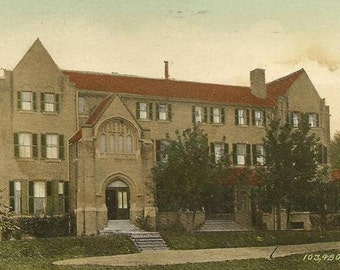 St Hilda's College Toronto Vintage Postcard 1911- Great Toronto Ontario Collectible Postcard